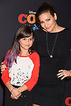 LOS ANGELES, CA - NOVEMBER 08: Actor Constance Marie (R) and daughter Luna Marie arrive at the premiere of Disney Pixar's 'Coco' at El Capitan Theatre on November 8, 2017 in Los Angeles, California.