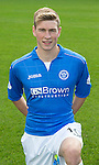St Johnstone FC 2014-2015 Season Photocall..15.08.14<br /> David Wotherspoon<br /> Picture by Graeme Hart.<br /> Copyright Perthshire Picture Agency<br /> Tel: 01738 623350  Mobile: 07990 594431