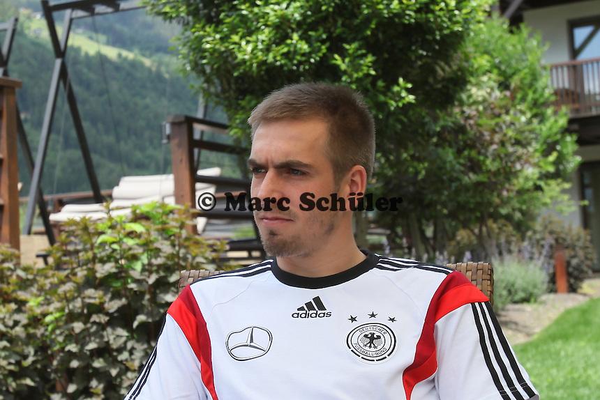 Philipp Lahm - Media Day der Deutschen Nationalmannschaft zur WM-Vorbereitung in St. Martin