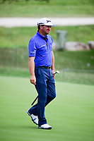 Graeme McDowell (NIR) watches his birdie attempt on 18  during round 1 of the Valero Texas Open, AT&amp;T Oaks Course, TPC San Antonio, San Antonio, Texas, USA. 4/20/2017.<br /> Picture: Golffile | Ken Murray<br /> <br /> <br /> All photo usage must carry mandatory copyright credit (&copy; Golffile | Ken Murray)
