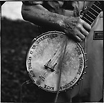 Pete SEEGER's Banjo, Clearwater Revival in Croton-on-Hudson, New York, on June 17, 2001