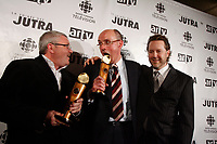 Kevin Tierney, producer (L) Winner of the Jutra-Golden Ticket, for BON COP, BAD COP<br />