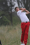Matt Fitzpatrick (ENG) on the 4th on the Final day at the 2012 Boys Home Internationals at Co.Louth Golf Club in Baltray, Co.Louth...(Photo credit should read Jenny Matthews/NEWSFILE)...