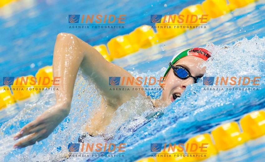 KAPAS Boglarka HUN<br /> London, Queen Elizabeth II Olympic Park Pool <br /> LEN 2016 European Aquatics Elite Championships <br /> Swimming<br /> Women's 800m freestyle preliminary  <br /> Day 10 18-05-2016<br /> Photo Giorgio Perottino/Deepbluemedia/Insidefoto