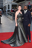"David and Jessica Oyelowo<br /> at the London Film Festival premiere for ""A United Kingdom"" at the Odeon Leicester Square, London.<br /> <br /> <br /> ©Ash Knotek  D3160  05/10/2016"