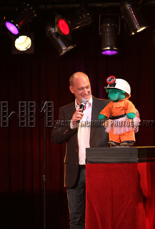 Donnie Kehr (BILLY ELLIOTT) Bear.attending the Broadway Cares/Equity Fights Aids Broadway Bears XV Charity auction at the B.B. King Blues Club & Grill in New York City on March 18, 2012.