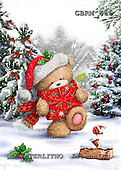 Roger, CHRISTMAS ANIMALS, paintings+++++,GBRM466,#xa# Weihnachten, Navidad, illustrations, pinturas