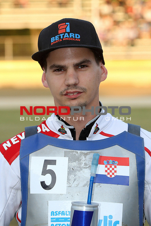 21.06.2014., Donji Kraljevec, Croatia - FIM Speedway Grand Prix Qualifications Race Off.<br /> im Bild jurica pavlic<br /> Photo: Vjeran Zganec Rogulja/PIXSELL