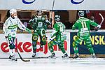 V&auml;ster&aring;s 2014-03-08 Bandy SM-semifinal 4 V&auml;ster&aring;s SK - Hammarby IF :  <br /> Hammarbys Patrik Nilsson jublar efter att ha gjort 1-0<br /> (Foto: Kenta J&ouml;nsson) Nyckelord:  VSK Bajen HIF jubel gl&auml;dje lycka glad happy
