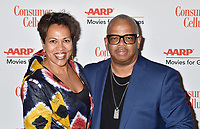 BEVERLY HILLS, CA - FEBRUARY 04: Robin Burgess (L) and Terence Blanchard attend the 18th Annual AARP The Magazine's Movies For Grownups Awards at the Beverly Wilshire Four Seasons Hotel on February 04, 2019 in Beverly Hills, California.<br /> CAP/ROT/TM<br /> &copy;TM/ROT/Capital Pictures