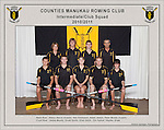 Counties Manukau  Rowing Club 2010/2011 Intermediate Club squad photo.