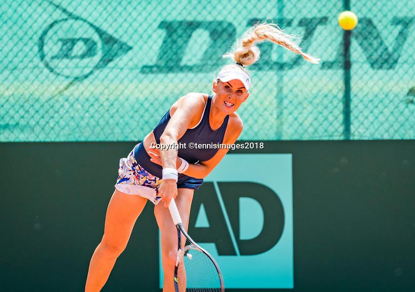The Hague, Netherlands, 10 June, 2018, Tennis, Play-Offs Competition, Sarah Gronert (GER)<br /> Photo: Henk Koster/tennisimages.com