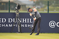 Paul Waring (ENG) on the 17th tee during Round 4 of the Alfred Dunhill Links Championship 2019 at St. Andrews Golf CLub, Fife, Scotland. 29/09/2019.<br /> Picture Thos Caffrey / Golffile.ie<br /> <br /> All photo usage must carry mandatory copyright credit (© Golffile | Thos Caffrey)