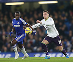Chelsea's Ramires tussles with Everton's Ross Barkley<br /> <br /> Barclays Premier League- Chelsea vs Everton  - Stamford Bridge - England - 11th February 2015 - Picture David Klein/Sportimage