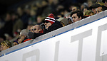 A Sheffield United fan during the championship match at The Den Stadium, Millwall. Picture date 2nd December 2017. Picture credit should read: Robin Parker/Sportimage