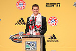 13 January 2011: DC United selected Perry Kitchen with the #3 overall pick. The 2011 MLS SuperDraft was held in the Ballroom at Baltimore Convention Center in Baltimore, MD during the NSCAA Annual Convention.
