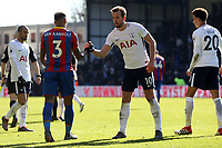 Tottenham players celebrate the victory after Crystal Palace vs Tottenham Hotspur, Premier League Football at Selhurst Park on 25th February 2018
