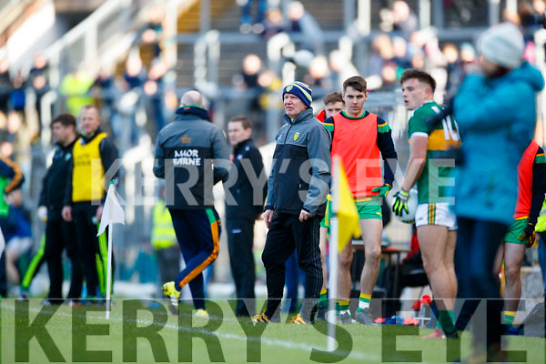 Donegal Manager Declan Bonner  Allianz Football League Division 1 Round 1 match between Kerry and Donegal at Fitzgerald Stadium in Killarney, Co. Kerry.