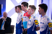 Remco Evenepoel (BEL/Deceuninck-Quickstep) at the Team Deceuninck-QuickStep press conference at the january 2020 training camp in Calpe, Spain<br />  <br /> ©kramon