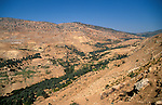 Jordan, a view of the Gilead near Ajlun&amp;#xA;<br />