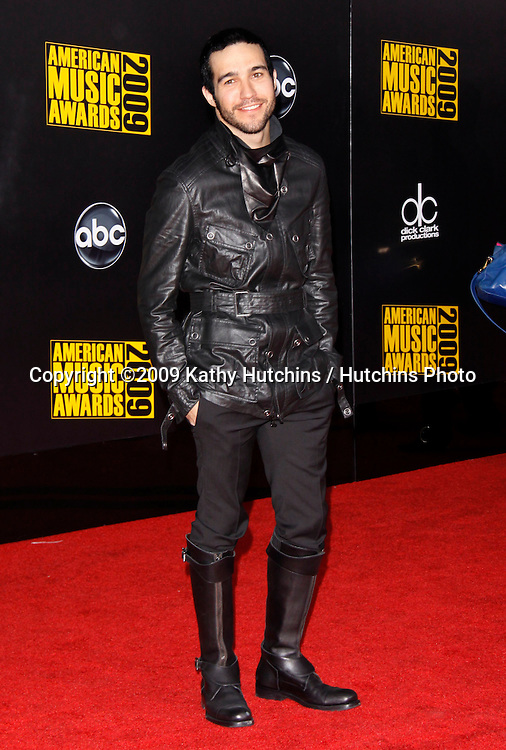 Pete Wentz.The 2009 American Music Awards - Arrivals.Nokia Theatre L.A. Live.Los Angeles, CA.November 22, 2009.©2009 Hutchins Photo....