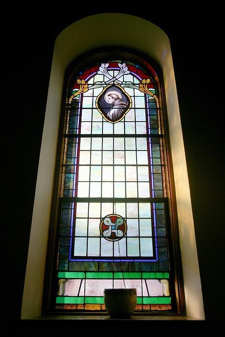 JoAnn Rosenthal's Church/home, Bucks Country, PA, 2011.
