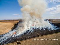 63863-02914 Prescribed Burn by IDNR Prairie Ridge State Natural Area Marion Co. IL