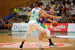 Basketball Champions League 2017/18 - Previus.<br /> Divina Seguros Joventut vs Dinamo Tbilisi: 86-66.<br /> Sergi Vidal vs Levan Patsatsia.