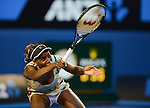Venus Williams (USA) loses at Australian Open in Melbourne Australia on 18th January 2013