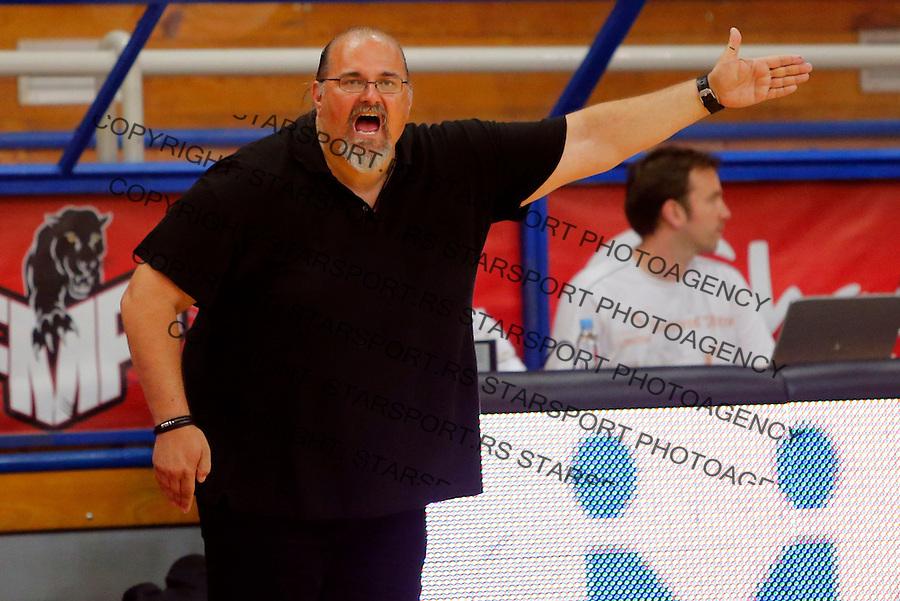 Aleksandar Dzikic FMP - Partizan, KLS Kosarkaska Liga Srbije  30.4.1016. April 30. 2016. (credit image & photo: Pedja Milosavljevic / STARSPORT)
