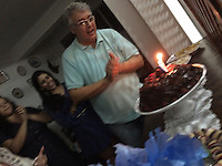 João Alberto Santos Silva comemora 50 anos<br /> Belém, Pará, Brasil.<br /> Foto Paulo Santos