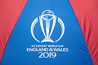CWC 2019 branding during Pakistan vs Bangladesh, ICC World Cup Cricket at Lord's Cricket Ground on 5th July 2019