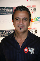 JOE HACHEM.The Ante Up for Africa Celebrity Poker Tournament at the Rio Resort Hotel and Casino, Las Vegas, Nevada, USA..July 2nd, 2009.headshot portrait black soul patch facial hair .CAP/ADM/MJT.© MJT/AdMedia/Capital Pictures
