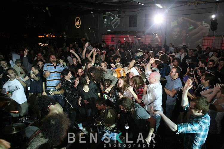 Red Bull Moon Tower party during SXSW  in Austin, Texas on Thursday, March 19, 2009. ..Benjamin Sklar for BizBash Media