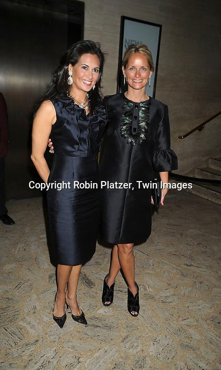 Christina Addison and Heather Mnuchin