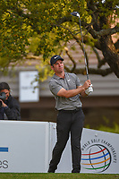 Paul Casey (GBR) watches his tee shot on 1 during day 4 of the WGC Dell Match Play, at the Austin Country Club, Austin, Texas, USA. 3/30/2019.<br /> Picture: Golffile | Ken Murray<br /> <br /> <br /> All photo usage must carry mandatory copyright credit (© Golffile | Ken Murray)