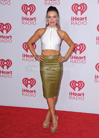 LAS VEGAS, NV - SEPTEMBER 19:  Karina Smirnoff at the 2014 iHeartRadio Music Festival at the MGM Grand Garden Arena on September 19, 2014 in Las Vegas, Nevada. PGSK/MediaPunch