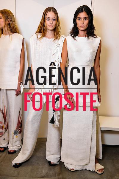 Osklen<br /> <br /> S&atilde;o Paulo Fashion Week- Ver&atilde;o 2016<br /> Abril/2015<br /> <br /> foto: Gustavo Scatena/ Ag&ecirc;ncia Fotosite