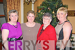 Castleisland girls l-r: Phyllis McCarthy, Joan Wall, Eileen O'Sullivan and Mary McLaughlin enjoying Women's Christmas last Friday night in the Ballygarry house hotel.