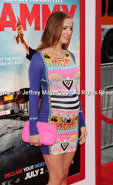 HOLLYWOOD, CA- JUNE 30: Actress Eva Amurri Martino arrives at the 'Tammy' - Los Angeles Premiere at TCL Chinese Theatre on June 30, 2014 in Hollywood, California.