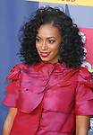 LOS ANGELES, CA. - September 07: Singer Solange Knowles arrives at the 2008 MTV Video Music Awards at Paramount Pictures Studios on September 7, 2008 in Los Angeles, California.