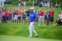 Hideki Matsuyama (JPN) during Friday's round 2 of the World Golf Championships - Bridgestone Invitational, at the Firestone Country Club, Akron, Ohio. 8/4/2017.<br /> Picture: Golffile | Ken Murray<br /> <br /> <br /> All photo usage must carry mandatory copyright credit (&copy; Golffile | Ken Murray)
