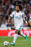 Marcelo Vieira Da Silva of Real Madrid in action during the UEFA Champions League Semi-final 2nd leg match between Real Madrid and Bayern Munich at the Estadio Santiago Bernabeu on May 01 2018 in Madrid, Spain. Photo by Diego Souto / Power Sport Images