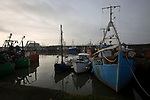 Fishing boats in the harbour at Maryport, where members of We Will, an advocacy group established by young people to campaign for better youth mental health services in Cumbria meet regularly.