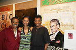 The Classical Theatre of Harlem, Inc presents Archbishop Supreme Tartuffe starring Ted Lange (Love Boat), Kim Brockington and Andre De Shields (ATWT) on July 12, 2009 at the Clurman Theatre in Theatre Row, New York City, New York. (Photo by Sue Coflin/Max Photos)