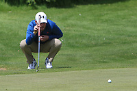 Matthew McClean (Malone) on the 2nd green during Round 4 of the Ulster Stroke Play Championships at Galgorm Castle Golf Club, Ballymena, Northern Ireland. 28/05/19<br /> <br /> Picture: Thos Caffrey / Golffile<br /> <br /> All photos usage must carry mandatory copyright credit (© Golffile | Thos Caffrey)