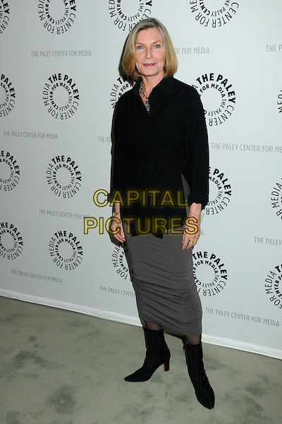 "SUSAN SULLIVAN .An Evening with ""Castle"" Presented by The Paley Center for Media held at The Paley Center, Beverly Hills, California, USA, 16th March 2010..Full length black shirt grey gray skirt ankle boots .CAP/ADM/BP.©Byron Purvis/Admedia/Capital Pictures"
