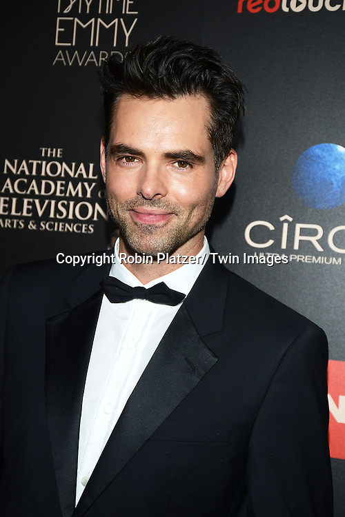 Jason Thompson attends The 40th Annual Daytime Emmy Awards on<br />  June 16, 2013 at the Beverly Hilton Hotel in Beverly Hills, California.