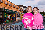 Katerina Breen and Eleanor O'Doherty launching the Irish Cancer Society Pink Ribbon day which will be held this Friday in Killarney on Monday evening