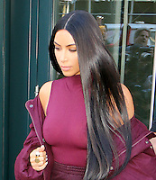 www.acepixs.com<br /> <br /> February 15 2017, New York City<br /> <br /> Kim Kardashian left her Downtown apartment on February 15 2017 in New York City<br /> <br /> By Line: Zelig Shaul/ACE Pictures<br /> <br /> <br /> ACE Pictures Inc<br /> Tel: 6467670430<br /> Email: info@acepixs.com<br /> www.acepixs.com